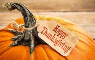 Happy Thanksgiving from Sandra Duhe, CCPA