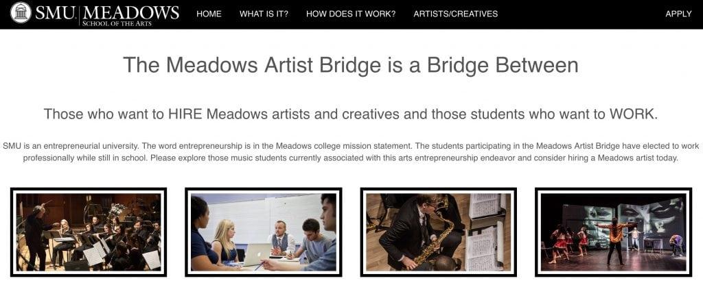 Meadows Artist Bridge