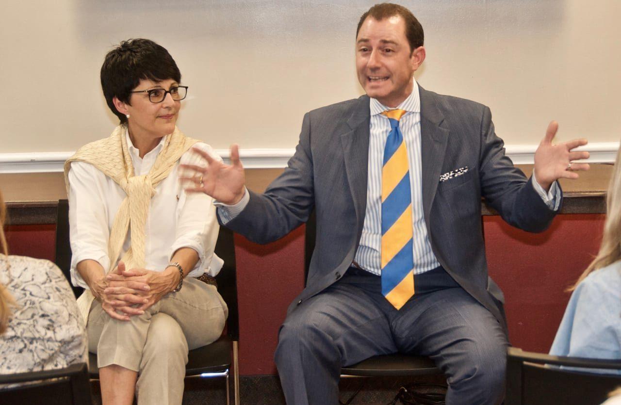 Crayton Webb, Owner and CEO Sunwest Communications talks to PRSSA
