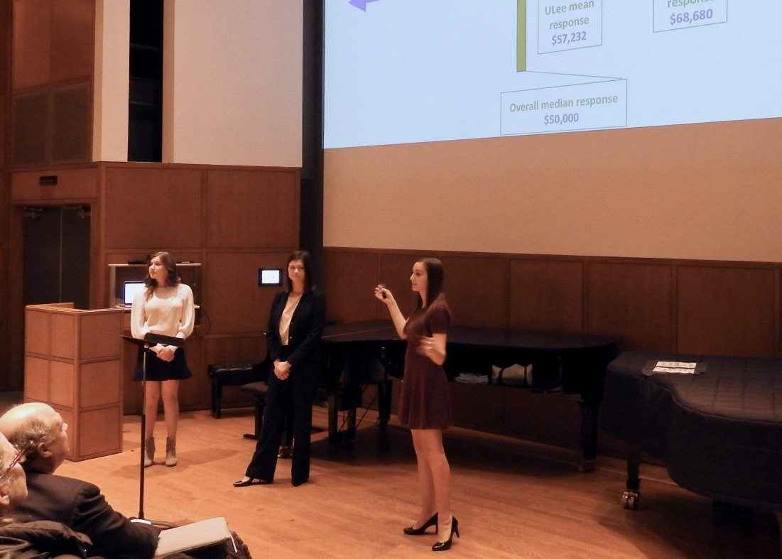 CCPA students present research findings to Meadows Faculty