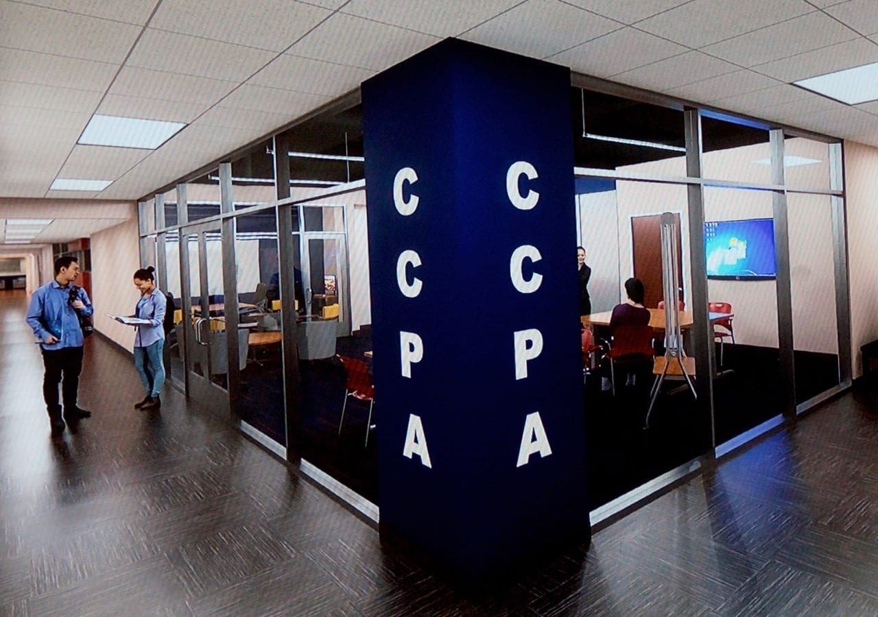 Rendering of CCPA student space in planned renovations